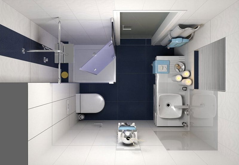 Das ultimative g ste wc for Badezimmer 7 quadratmeter