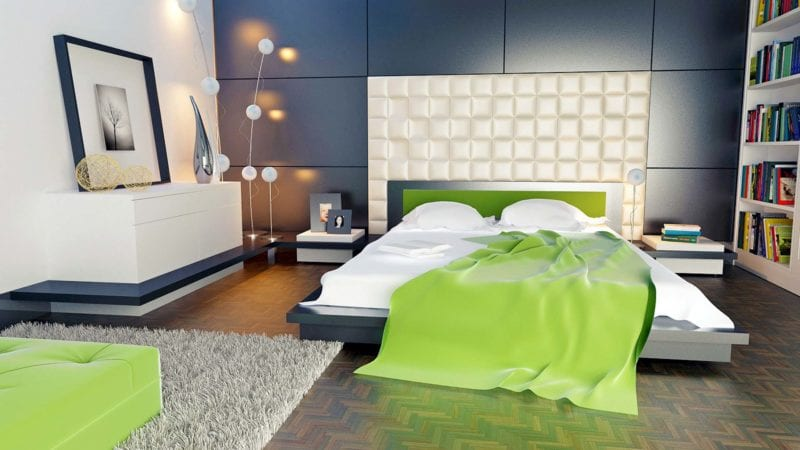 LED-Beleuchtung Schlafzimmer